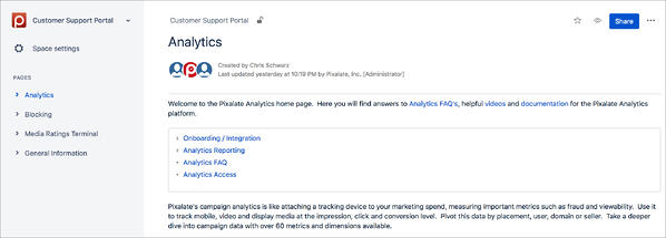 analytics-support-portal