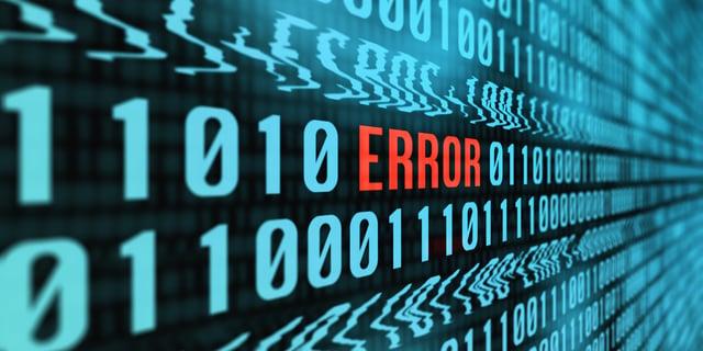 error-mistake-code-problem