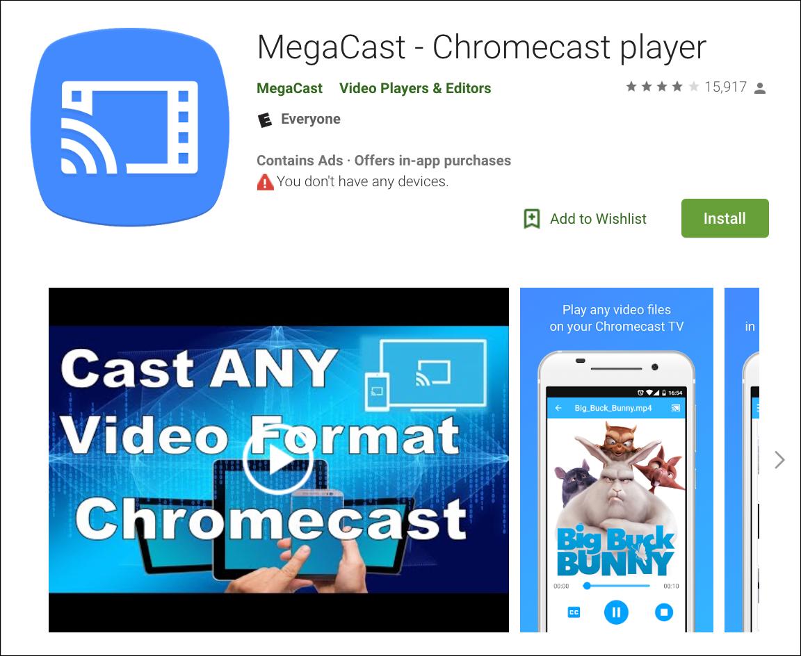 megacast-play-store-screenshot
