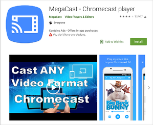 megacast-play-store-screenshot
