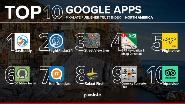 PTI Travel Mobile Google Play Store May 2021 NA
